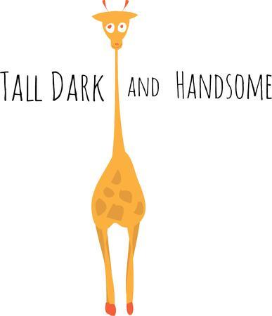 animal lover: Esta jirafa es perfecto para el amante de los animales.