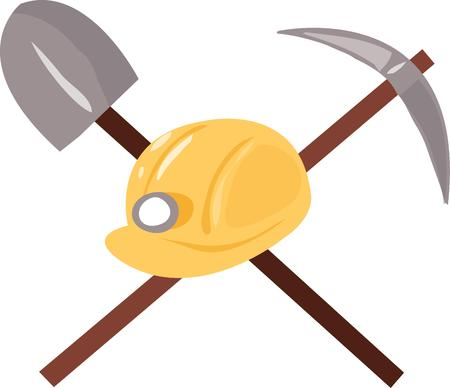 pick ax: Use this construction design for your tool project.