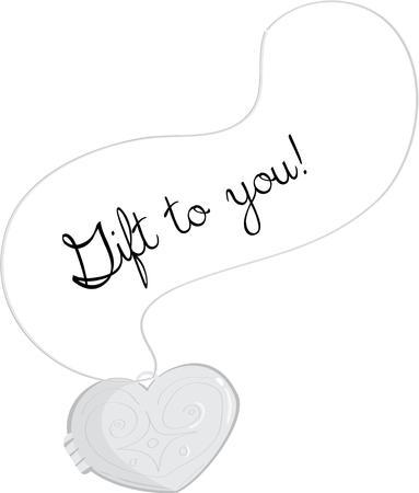 medaglione: Utilizzare questo disegno medaglione per condividere il tuo amore.