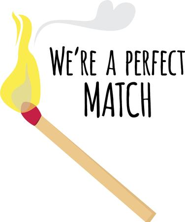 addition: This match is a great addition to your fire project.