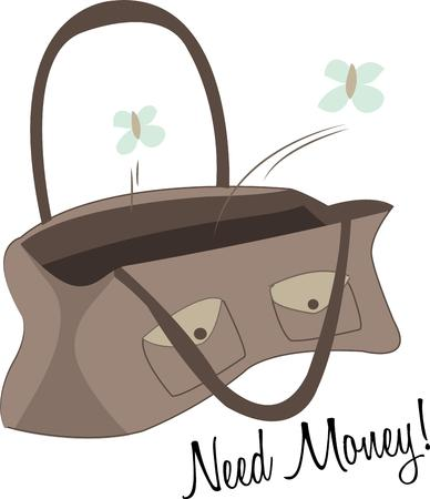 vain: Use this empty purse for your full project.