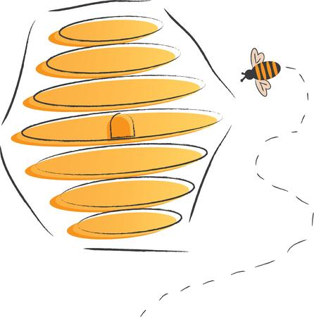 bumble: Use this bee design for your hive project.