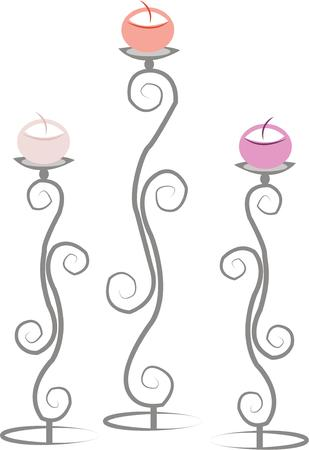 candlestick: Use this candlestick design on your next project.