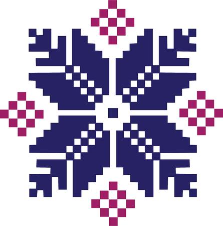 fair isle: The fair isle pattern is a favorite of knitters.