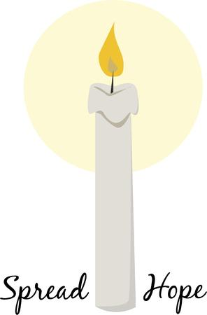 flame letters: This will look lovely on a choir robe for Christmas service. Illustration