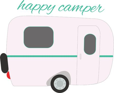 anyone: This fun trailer design is perfect for anyone who loves camping.