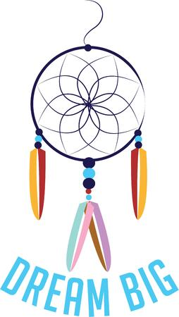 southwestern: Use this dreamcatcher for your southwestern project.