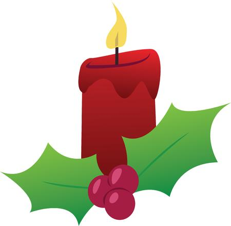 taper: Light a candle for the holidays.