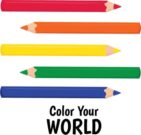 upcoming: These colored pencils will be great for the upcoming artist or young student.