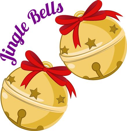 jingle bells: Ring in the holidays with some jingle bells.