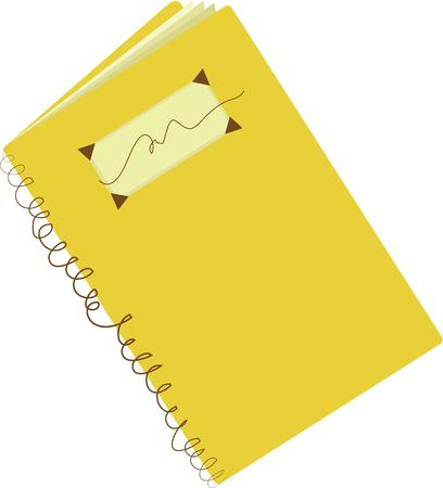 writers: Writers will like a journal that they can have with them at all times. Illustration