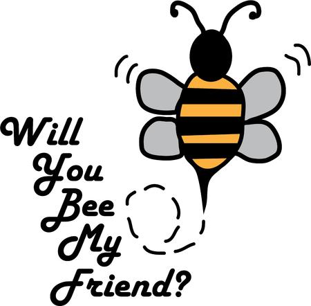 bumble: Use this bumble bee on your buzzy project.