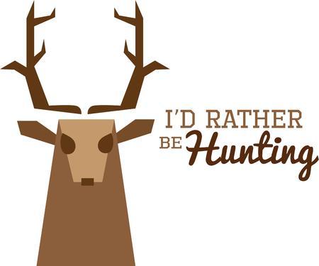 bucks: Hunters love a beautiful deer head.