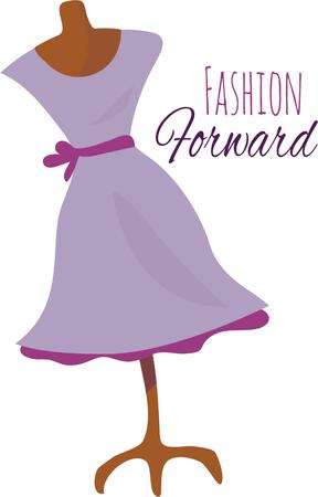 manequin: Be a fashion star with a dress manequin.