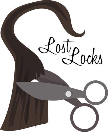 beautician: Beauticians and barbers can show their skill with this lock of hair.