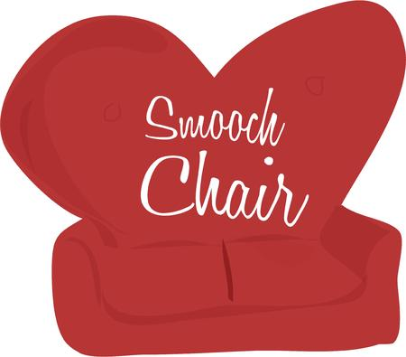 divan: Have a love seat for your valentine.