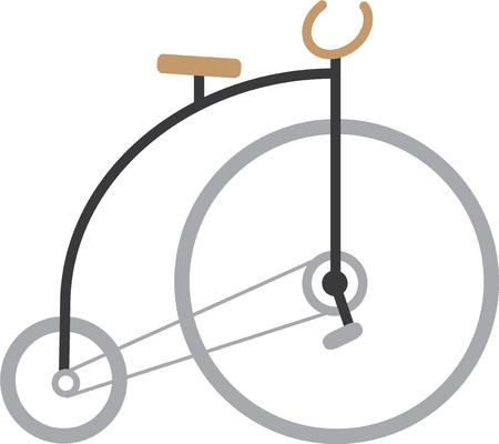 clowning: This pennyfarthing bike is great for your funloving friend.
