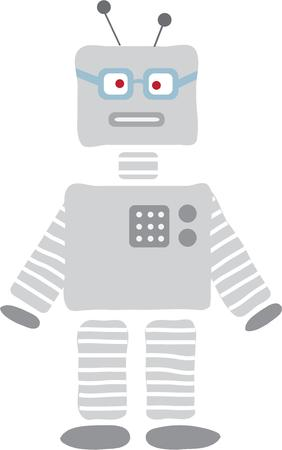 pal: This fun robot design is great for your sci-fi loving pal.