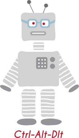 scifi: This fun robot design is great for your sci-fi loving pal.