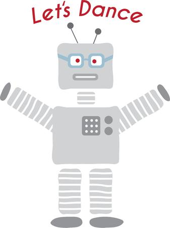 pal: This fun robot design is great for your scifi loving pal.