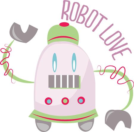 automaton: Science nerds will love to have a robot. Illustration