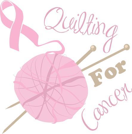 gu�rir: Soutenir un rem�de contre le cancer avec ce ruban de conscience.