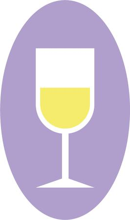 oval  alcohol: This design will look great on your wine project.