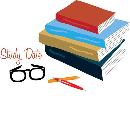 cramming: This design will be great for your scholarly project. Illustration