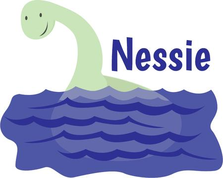 loch: Use this monster design for your Nessy project.