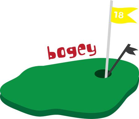 bogey: This golf green is perfect for the golfer in your life.