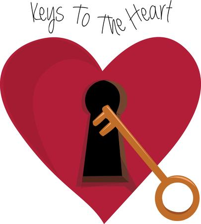 latchkey: Give your valentine the key to your heart.