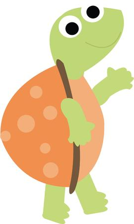 going nowhere: A happy turtle is a great friend for a childs decor.