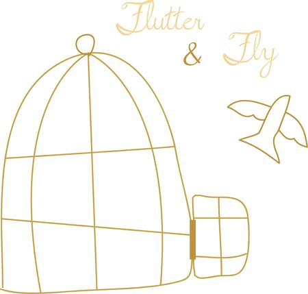 so that: Put a bird cage near the window so that the bird can see the sky. Illustration