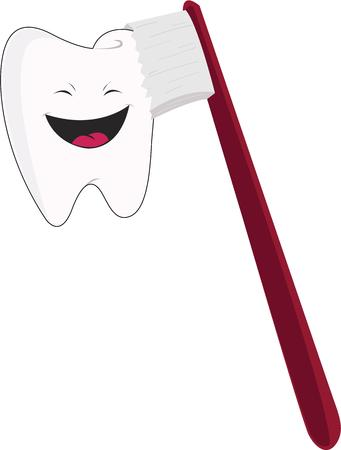 patients: Dentists will love a happy tooth for their patients.