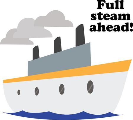 seafaring: Utilice este dise�o del barco para su proyecto marinera.
