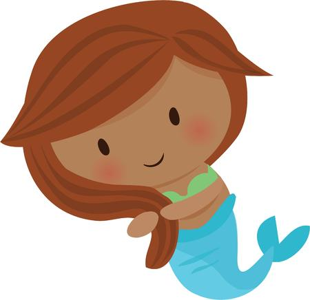mythological character: Mermaids are a great accent for beach time fun.