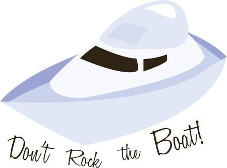 楽しんで: Have fun on the water with a speed boat.