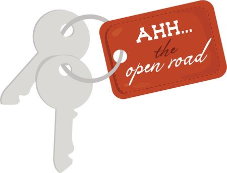 latchkey: Have the keys to the adventure of the open road.