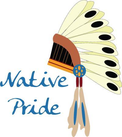 miras: Bir yerli miras gurur gösterin.