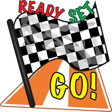 nascar: Race fans will like to have a checkered flag.