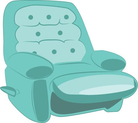 recliner: A recliner is a comy seat for your home.