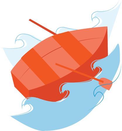 rowboat: Remando al lago en una peque�a embarcaci�n es un pasatiempo divertido.