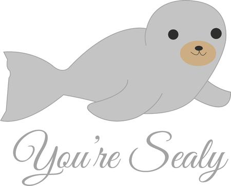animal lover: A little seal is great for any animal lover.