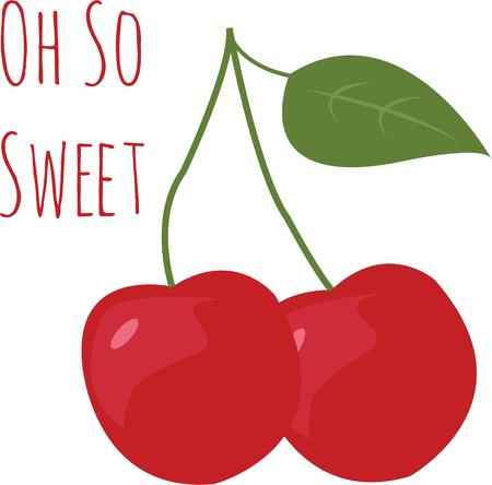 drupe: Make a beautiful cherries for a kitchen project.