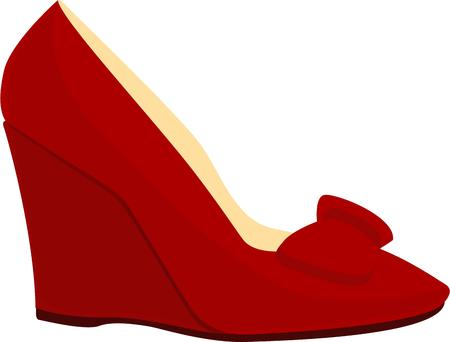 red shoes: Red shoes are a fashion lovers dream.