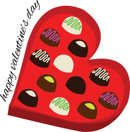 candy box: A box of chocolates is a traditional valentine gift.