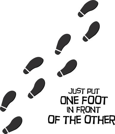 anything: Leave your footprints on anything.