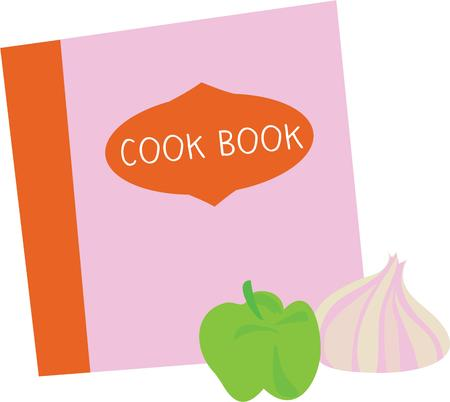 prepare: Prepare yummy foods with the help of this book Illustration