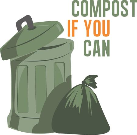 compost: Use this trash bin on your compost project.