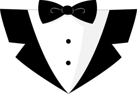 formal: Use this black tie formal for your special occasion.